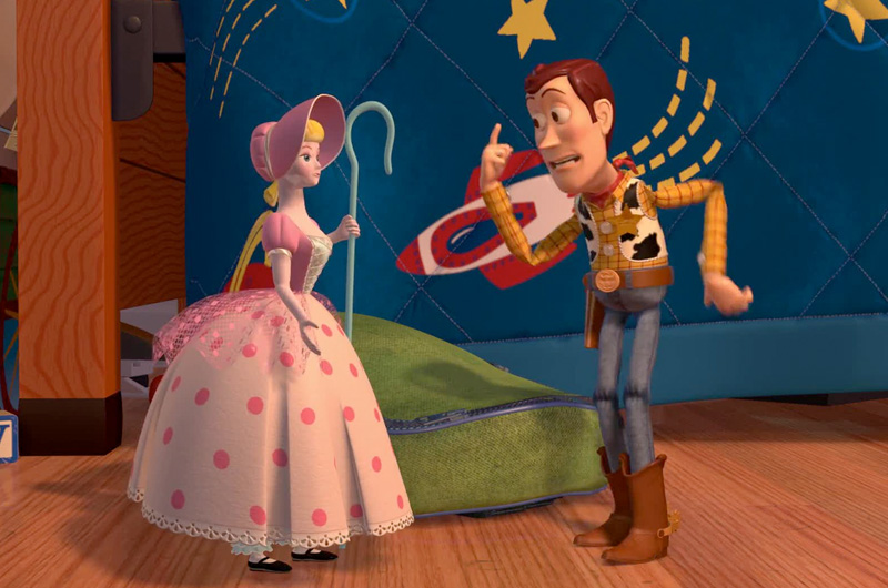 ボー・ピープは、トイストーリー1と2に出てきたおもちゃで、アンディの母親が、他の家にゆずってしまったため、ウッディ達と離れ離れの生活をしていました。